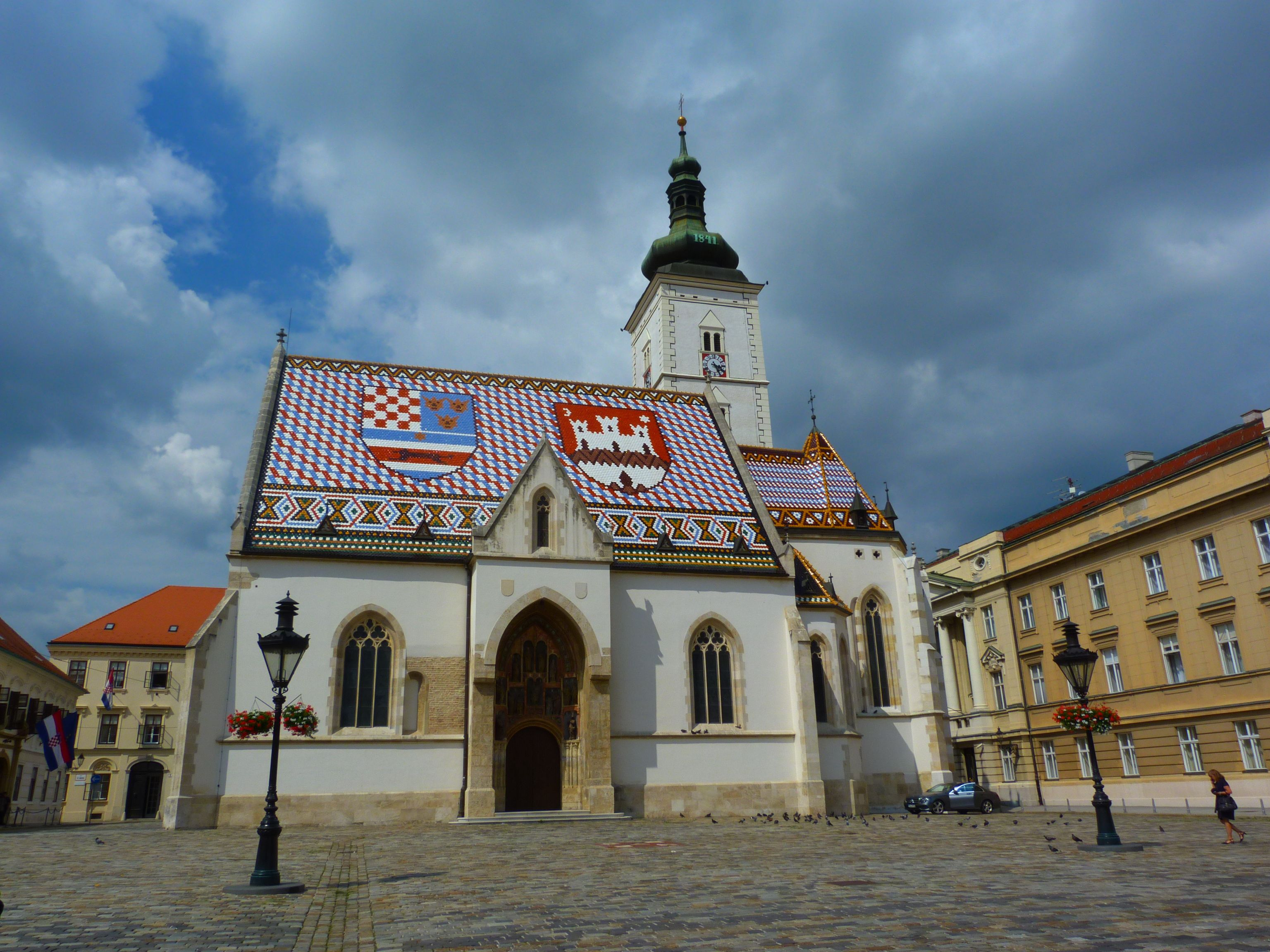 Saint Marko Church In Zagreb New Inventions House Styles Zagreb