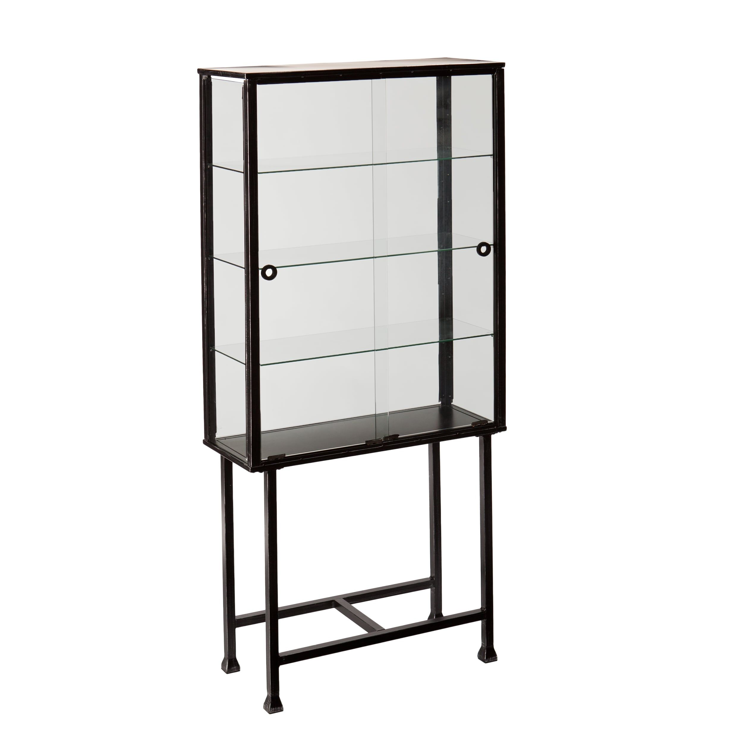 pamono glasvitrine verkaufsvitrine vintage metal at for sale glass cabinet