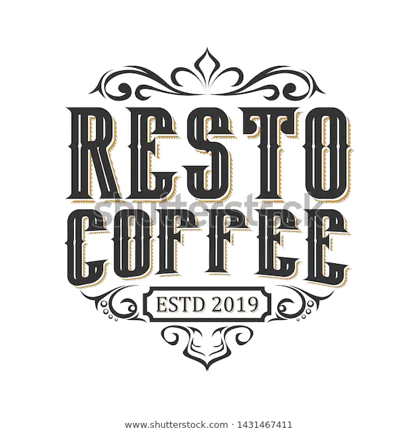 Vintage Logo Restaurant Food Drink Stock Vector Royalty Free 1431467411 In 2020 Logo Restaurant Vintage Logo Restaurant Recipes