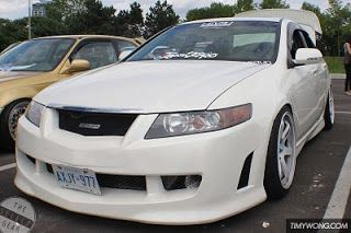 Steve-O's Supercharged TE37-equipped Mugen TSX! Representing Level One crew.
