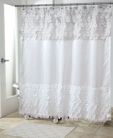 Soft And Elegant Shower Curtain Perfect For A Simple Bathroom