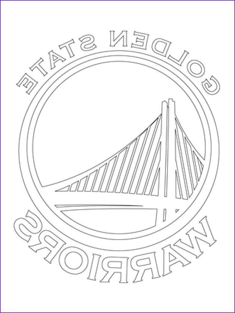 Golden State Warriors Coloring Pages Golden State Warriors Coloring Page Cool Col In 2020 Golden State Warriors Golden State Warriors Colors Golden State Warriors Logo