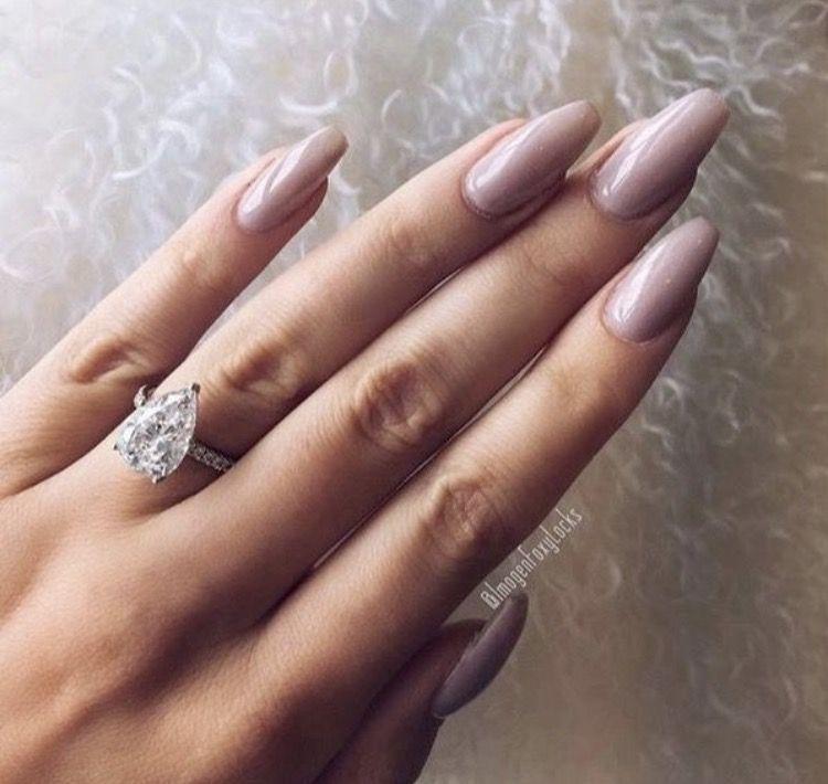 Pinterest: @Angelic_Vanity | Mauve nails, Bride nails ...