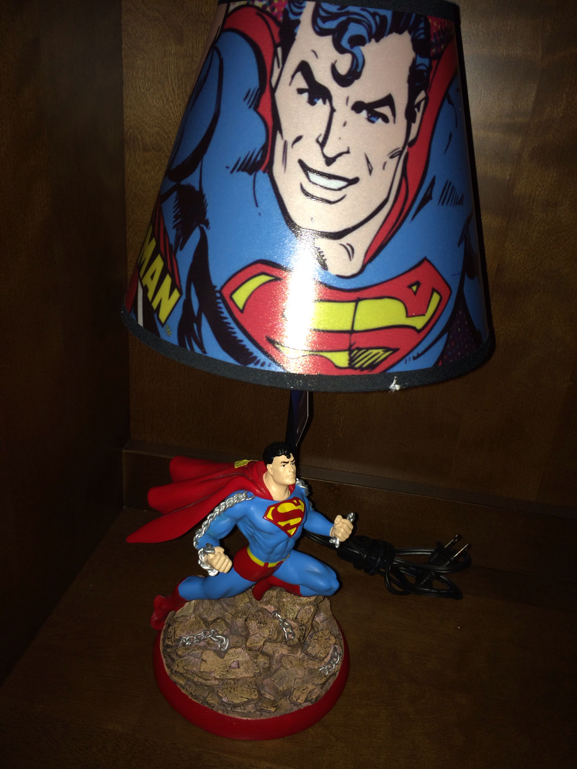 Superman Room Ideas Superman Lamp For The Superhero Room Is A Must Cool