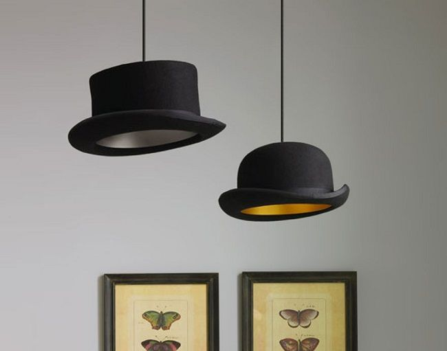 2. lámparas creativas hechas a mano