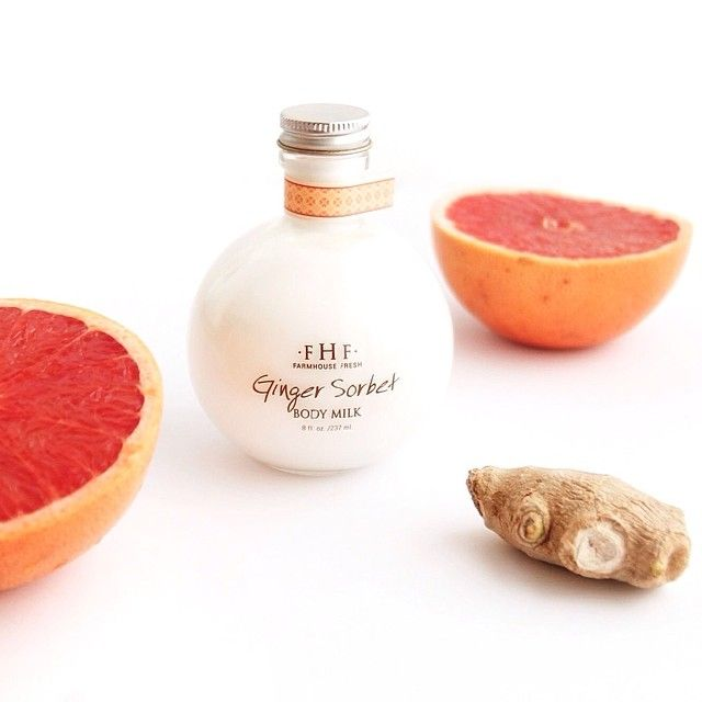 Via Blossomlounge Milk It Does A Body Good Especially This Invigorating Body Milk With Notes Of Ginger Grapefruit And C Body Milk Grapefruit Ginger Sorbet
