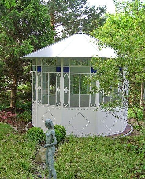 Pavillons Ein Hauch Grossburgerlicher Nostalgie Haus Und Garten Garten Pavillon Pavillon