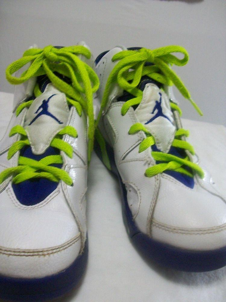 online retailer 6e176 e1170 NIKE AIR JORDAN GIRLS SIZE 2Y TENNIS SHOE MULTI-COLOR LEATHER FALL  NIKE   Athletic