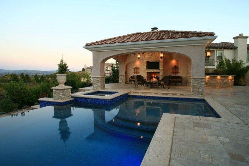 Backyard Ramada, Resort Style Landscape Pergola and Patio Cover Lisa ...