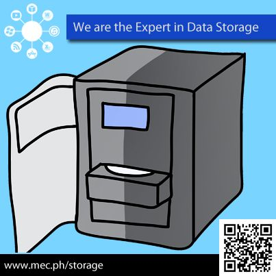 We are the Expert in Data Storage & Protection. http://mec.ph/storage