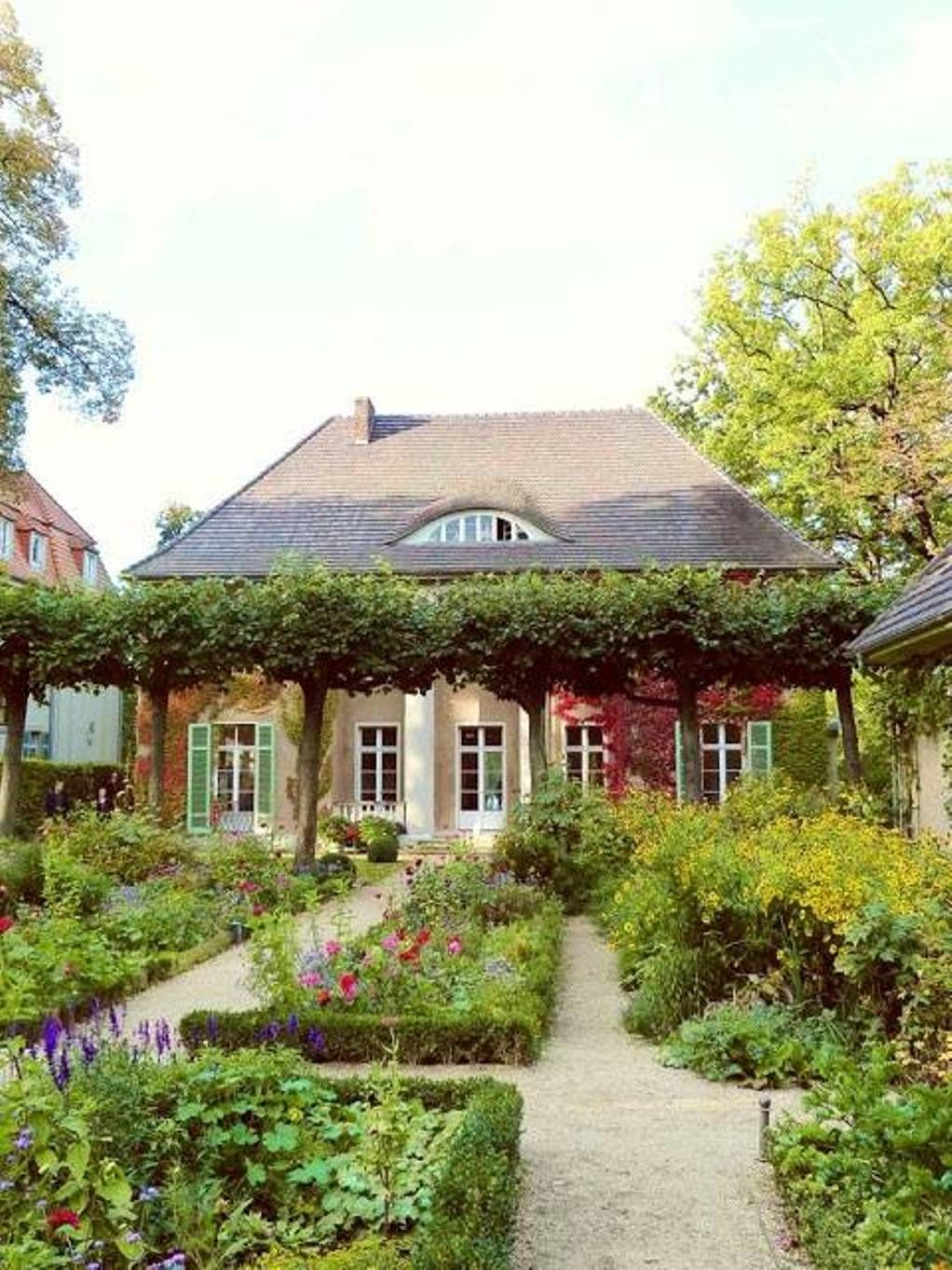 French Country Garden Awesome Home Exterior Design