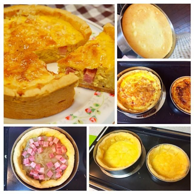 炒め玉ねぎをたっぷり敷き詰め、ベーコンとチーズを乗せた、アルザス地方のキッシュです。 豆乳で作ってみましたが、美味しかった! 豆乳臭さは全然感じません。 玉ねぎの甘さが優しいキッシュです。 今回は、パート・ブリゼが完璧✨✨ 底の焼き色にうっとりしました✨ - 127件のもぐもぐ - アルザススタイルの豆乳キッシュ by meisui829