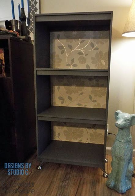 DIY Furniture Plans to Build a Bookcase with Legs from D. Lawless Hardware
