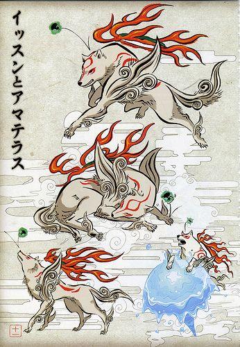 013 Japanese Art Art Amaterasu