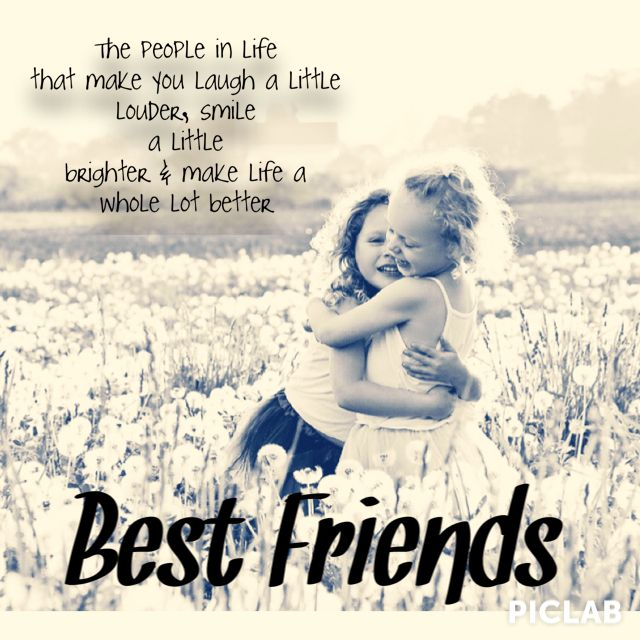 Best friends are always there for you even when you move a ...