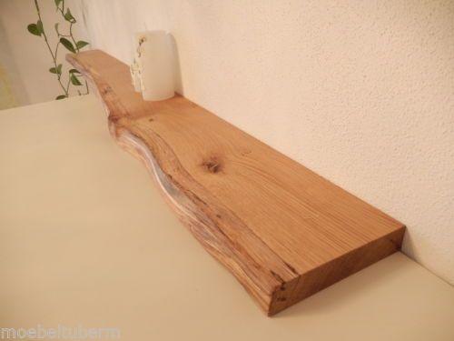 Details Zu Wandboard Eiche Wild Massiv Holz Board Regal Steckboard
