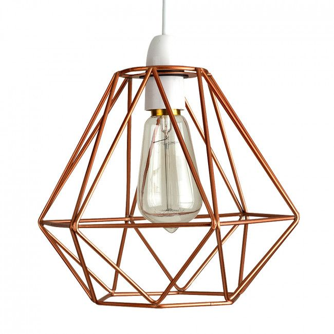 Diablo Copper Pendant Shade Ceiling Light Shades Copper Pendant