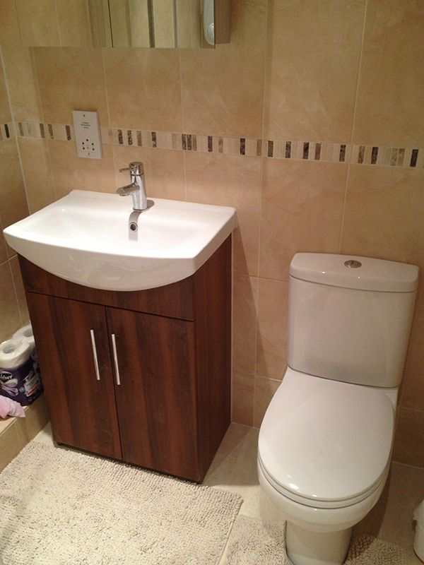 Floor Mounted Vanity Unit In UK Bathroomu0027s Installation Project At Oakwood,  ...