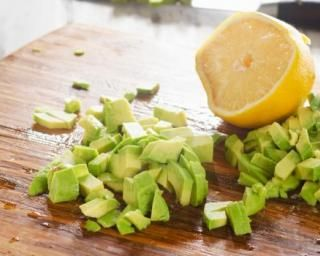 Wrap minceur à lavocat et au citron pour raffermir