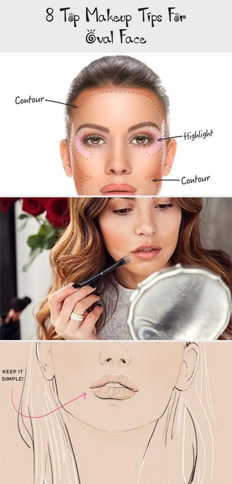 9 Top Makeup Tips For Oval Face - Make-Up#face #makeup #oval #tips