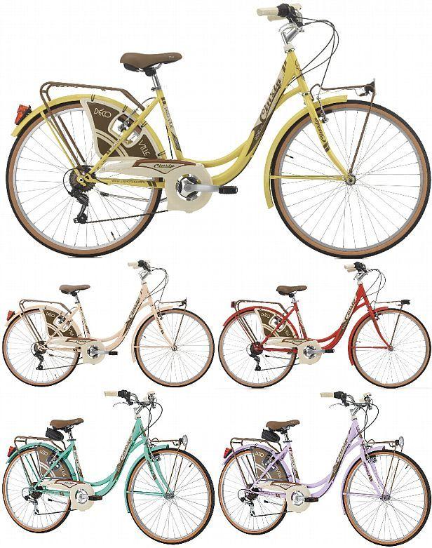 26 Zoll Damen Holland Fahrrad 6 Gang Cinzia Decoville Retro Damenrad Vintage Cityrad Kaufen Bei Hood De In 2020 Fahrrad Retro Vintage