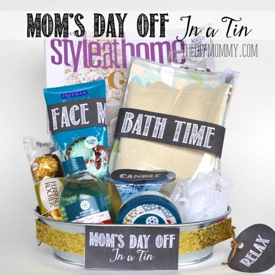 A Gift In A Tin: Moms Day Off In A Tin