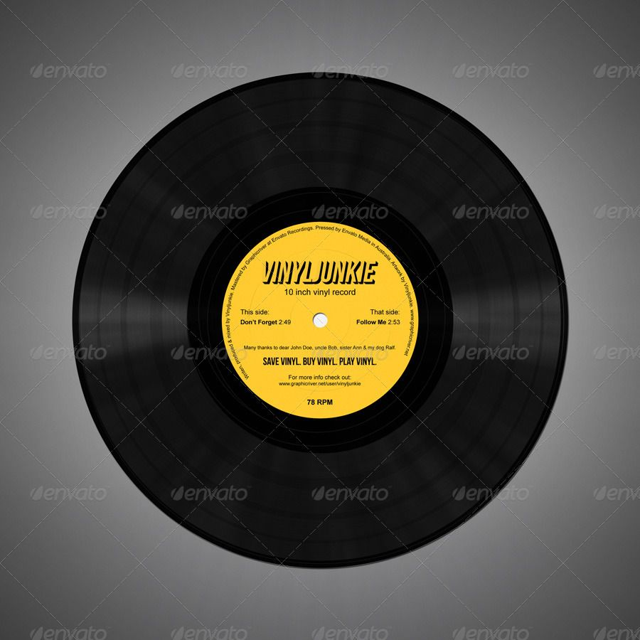 Realistic Vinyl Records With Inner Sleeves Vinyl Records Buy Vinyl Vinyl