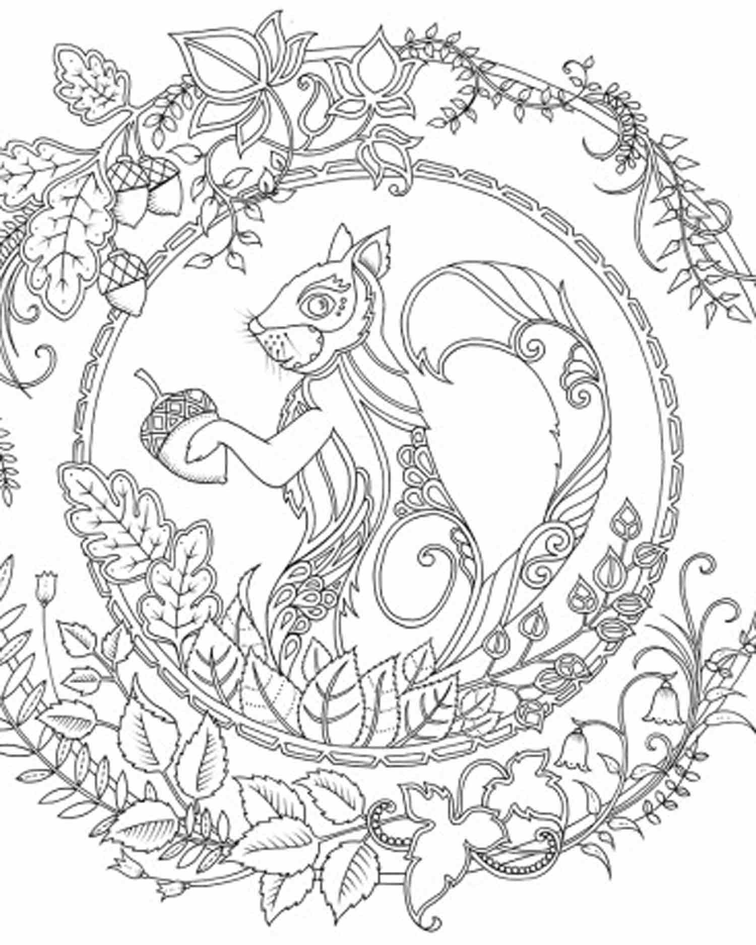 Enchanted Forest Coloring Pages - Bing Images | coloring | Pinterest ...
