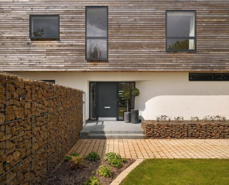 Mur et clôture gabion: idées pour le jardin en 33 photos!