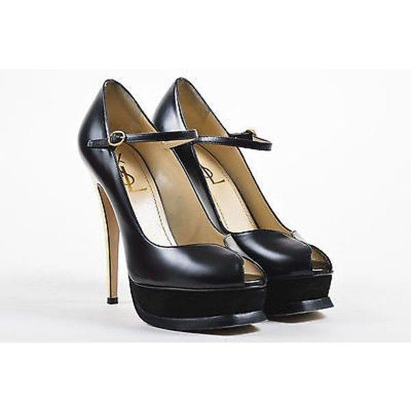 Pre-owned - Black Suede Heels Saint Laurent QPwNIlAz