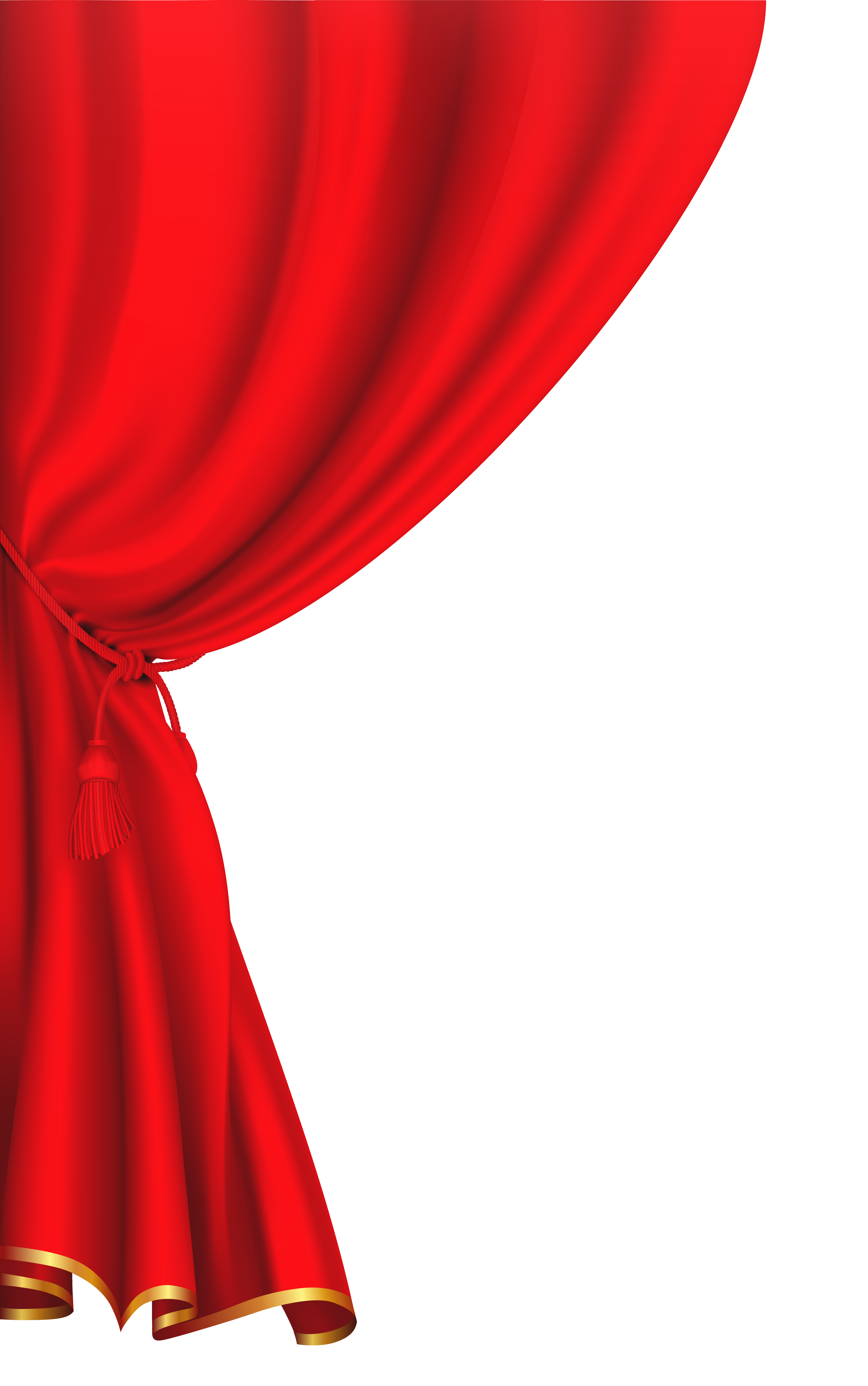 Red curtain clipart image buda y otros pinterest red for Tende frama