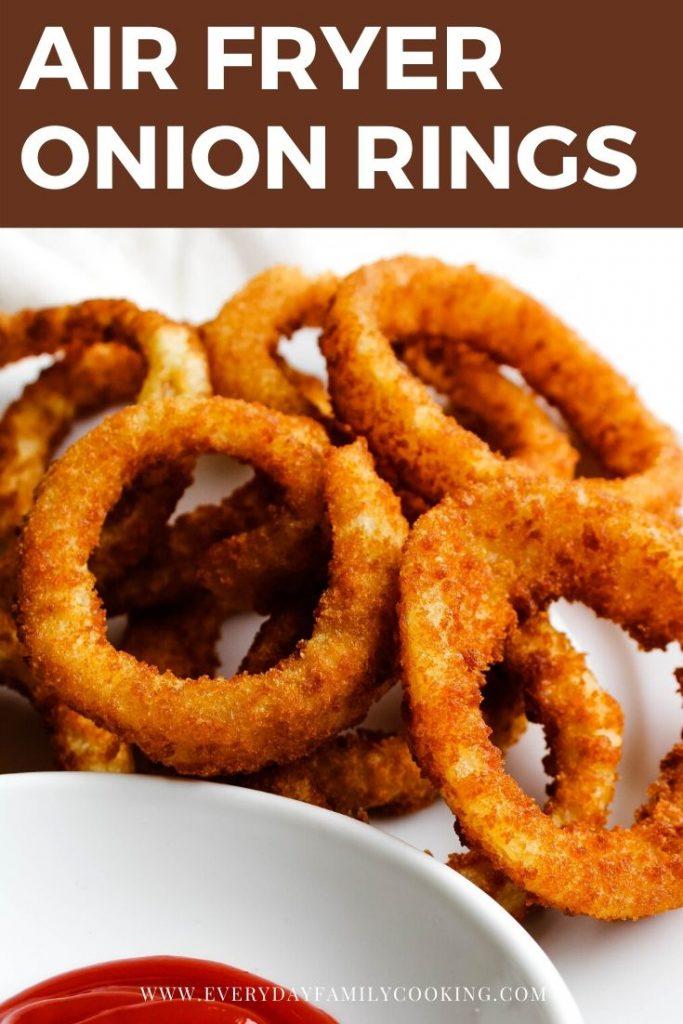Air Fryer Frozen Onion Rings Recipe Air fryer dinner