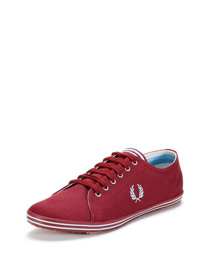 Top Twill GiltStuff Tipped Perry Low Sneaker Fred Kingston At By Rc534ALjSq