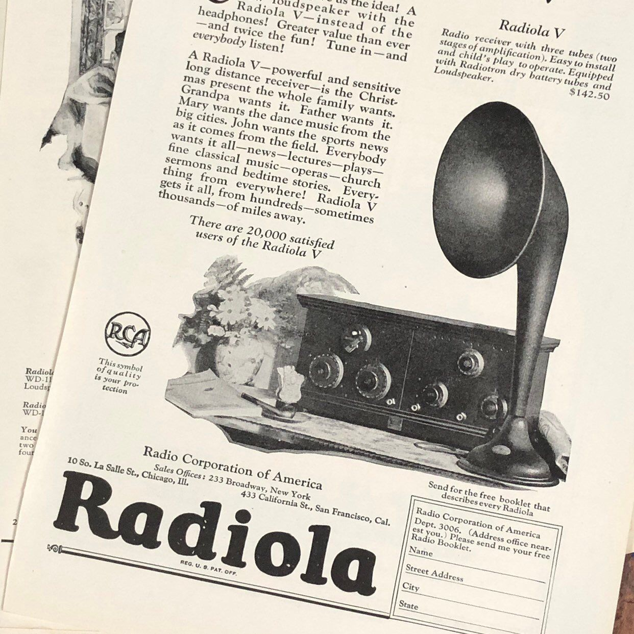 15 Radio Vintage Ads 1920s Vintage Advertisements Vintage