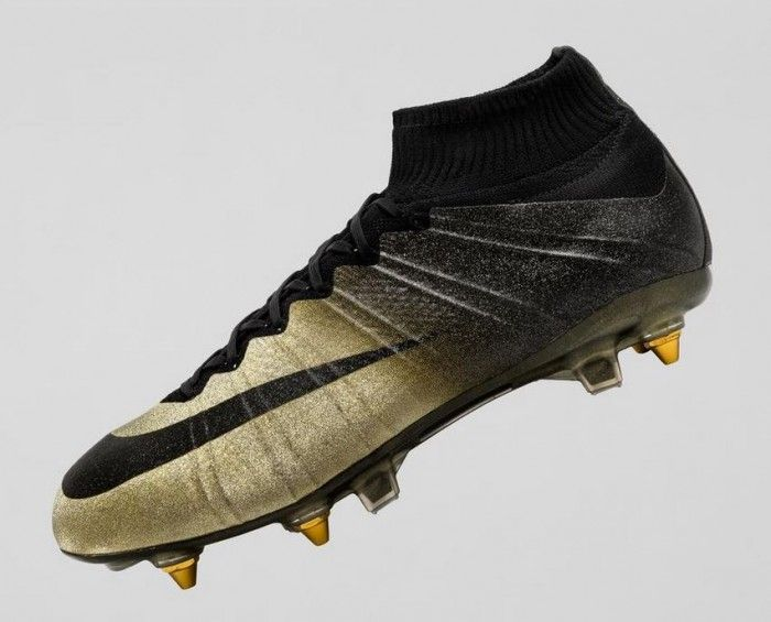 separation shoes 6b0cd 7b9f2 Nike Celebrates Ronaldo With Micro-Diamond Studded Mercurial CR7 Rare Gold  Boot