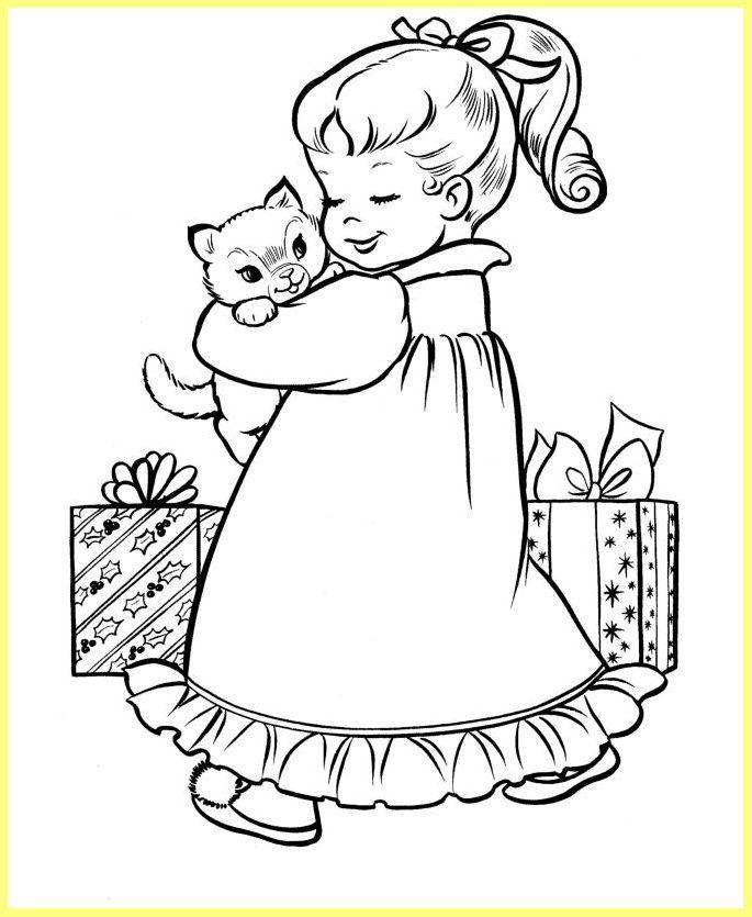 imagenes de navidad para ni 241 os para colorear en l 237 nea | Cute ...