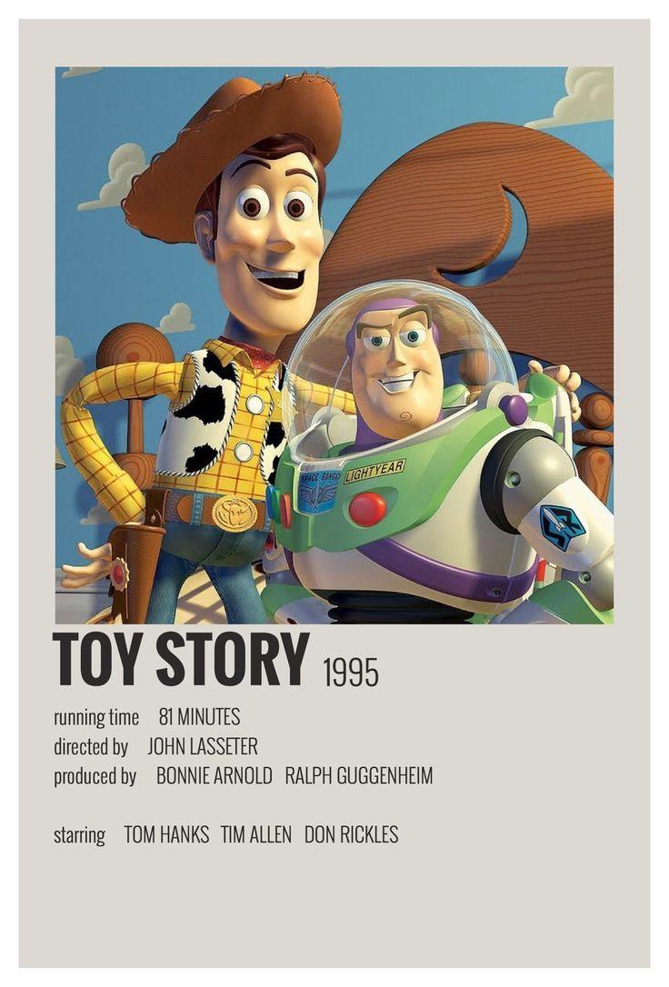Toy Story by Maja #alternative #movie #posters #polaroid #disney #alternativemovieposterspol…   Disney movie posters, Film posters minimalist, Movie posters vintage