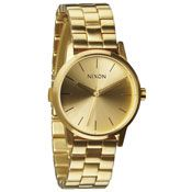 The Small Kensington Watch - #gold #nixon   Want this in rose gold! :(