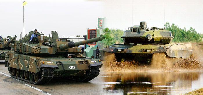 XK2 vs Leopard