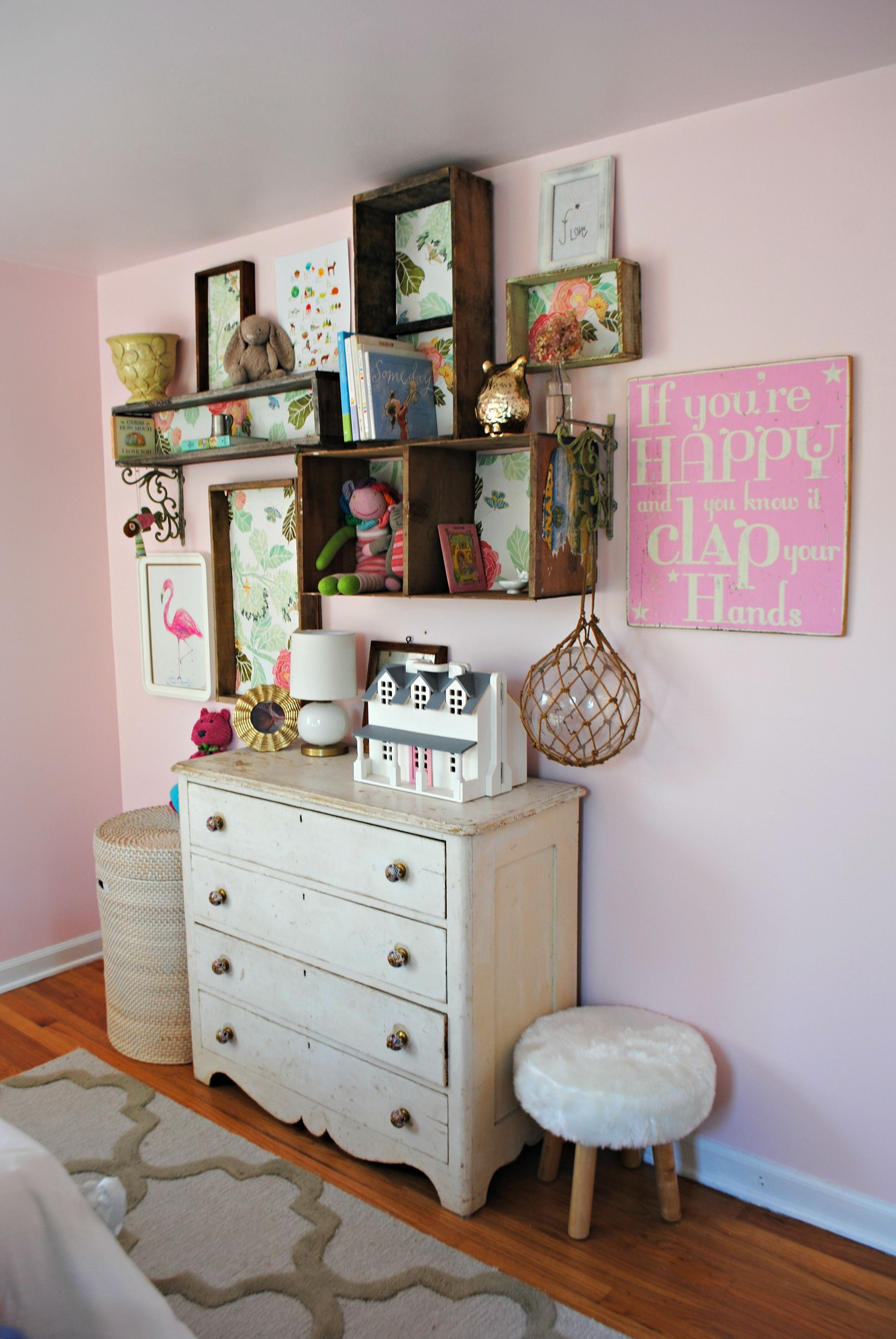 Diy Shelves Girls Bedroom Ideas Cotton Candy Pink By