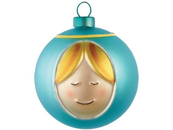 Alessi PALLE PRESEPE Weihnachtsbaumkugel #weihnachtsdekoimglasmitkugeln