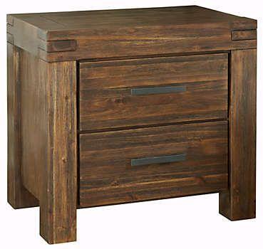 Meadowbrook 2Drawer Nightstand - Art Van Furniture