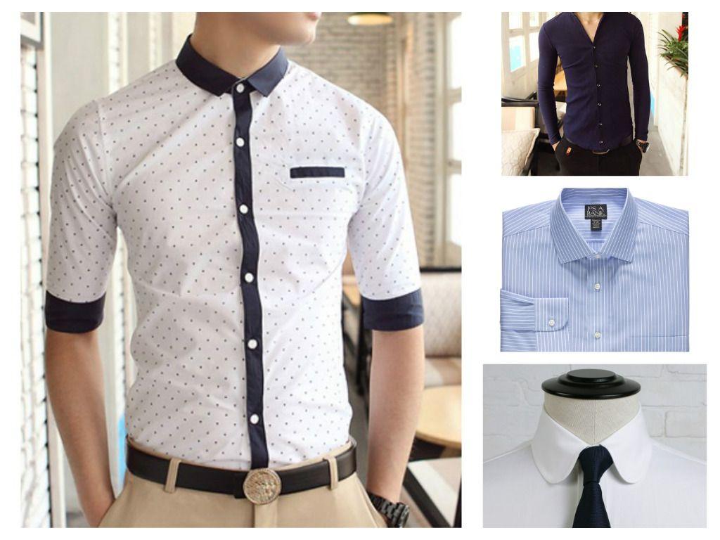 Shirt design types - Types Of Collar Designs For Men S Shirt