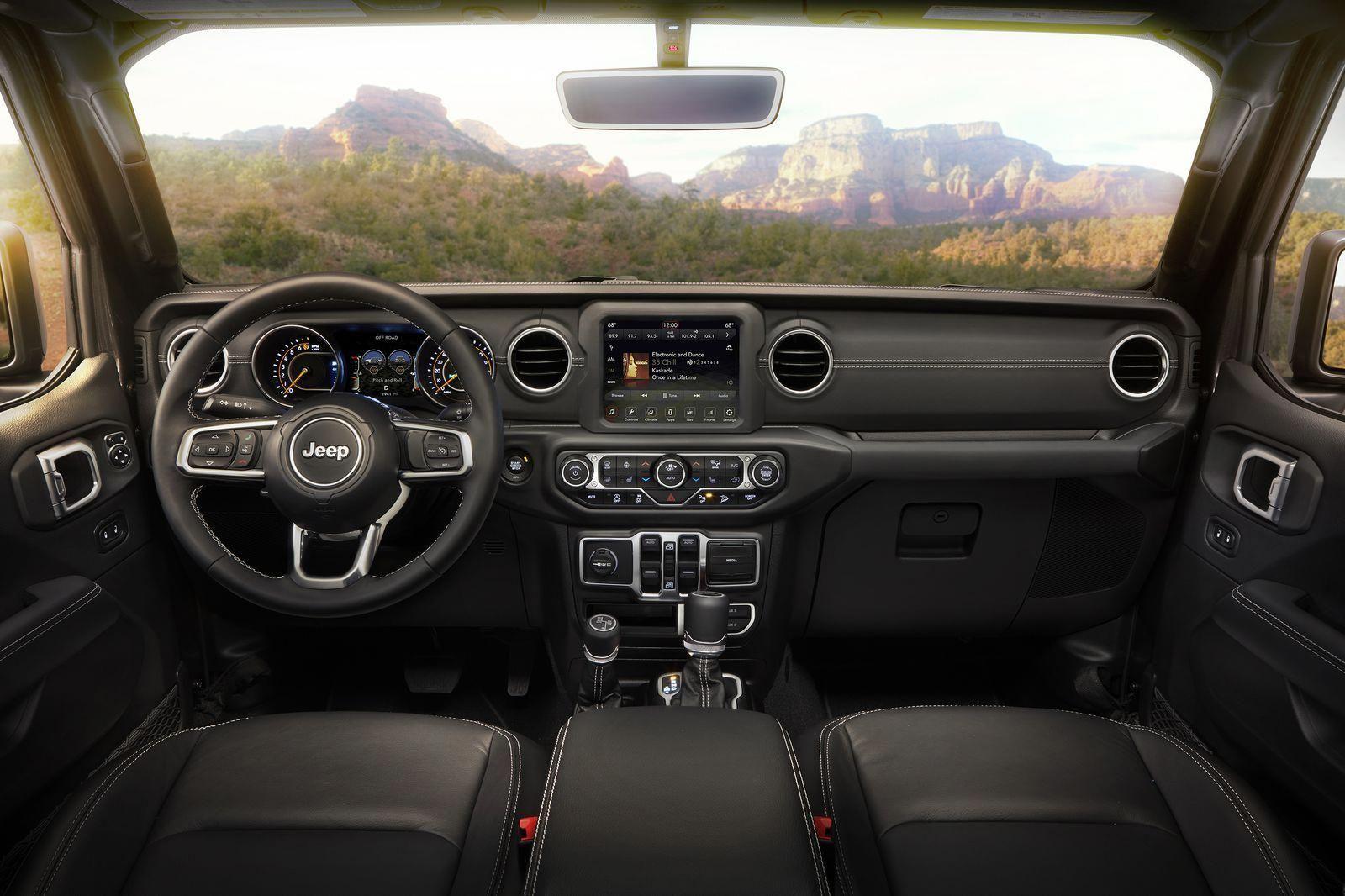 2018 Jeep Wrangler Sahara Interior Jeepwranglerinterior Jeep