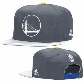 Golden State Warriors adidas Alternate Logo Snapback Cap - Slate