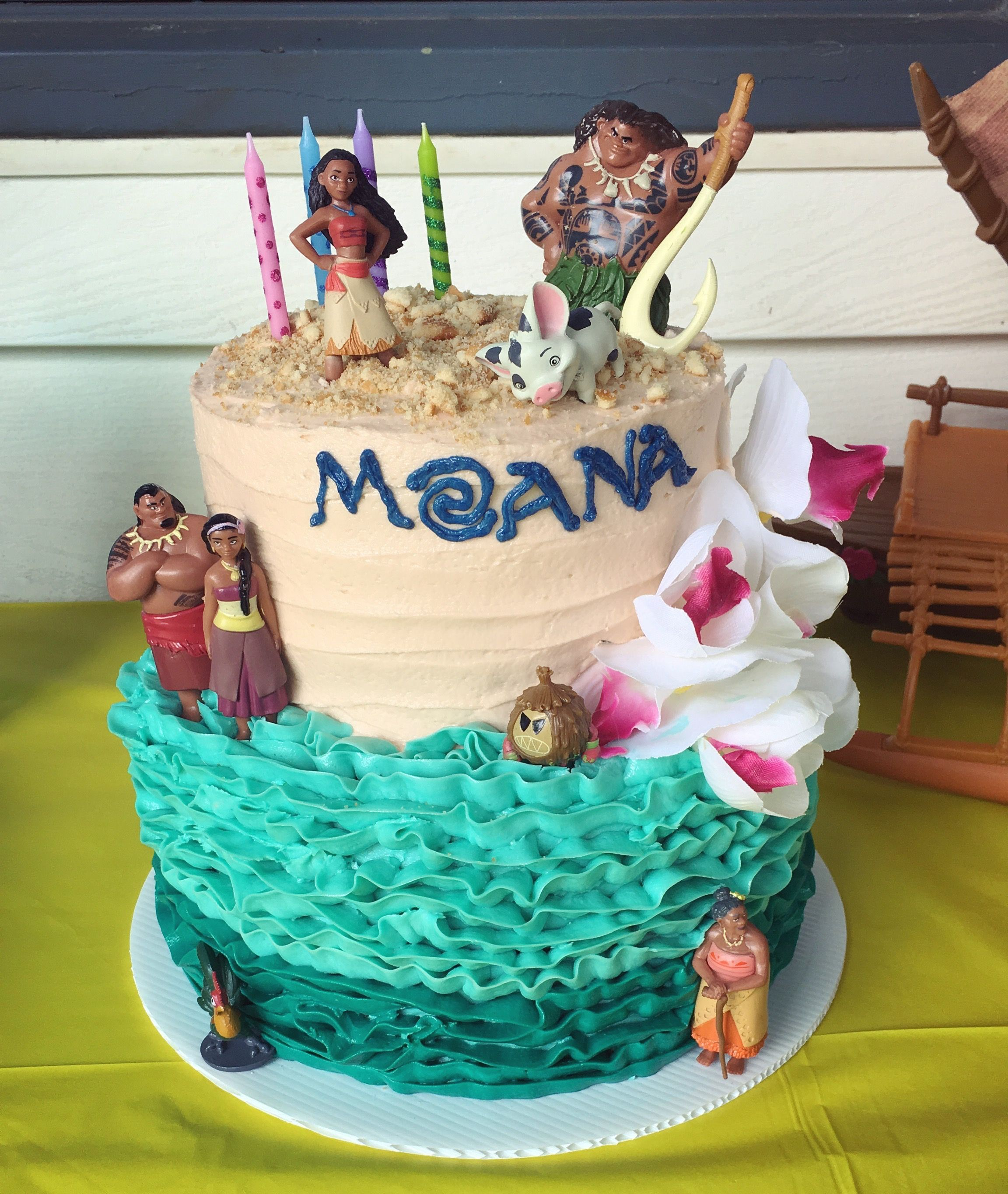 Moana birthday cake Birthdays Pinterest Moana birthday