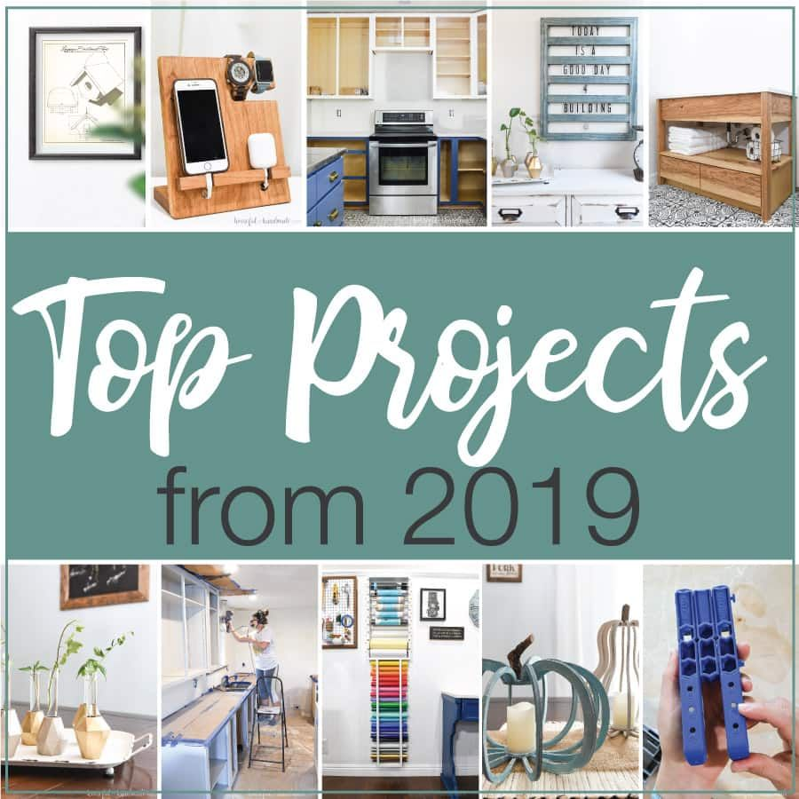 Top 10 Diy Projects From 2019 In 2020 With Images Diy Furniture Decor Diy Projects Built In Cabinets