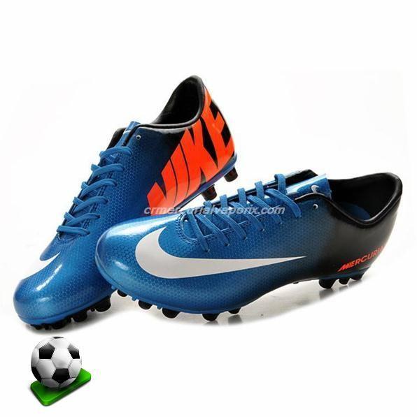 soccer cleats for girls | ... AG Blue Black Orange White Girls Soccer Cleats