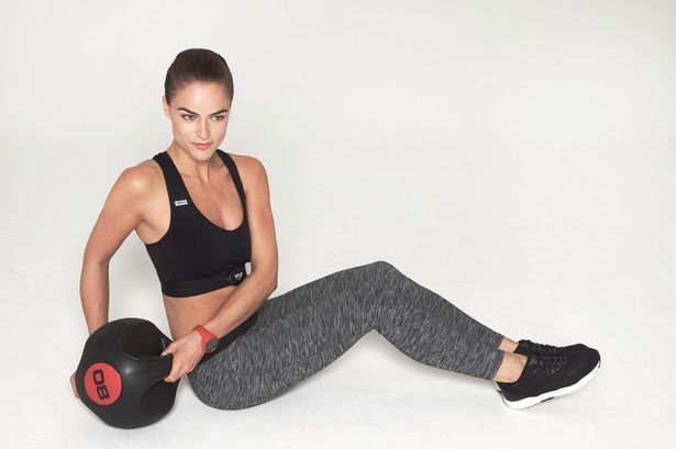 Sports bra with built-in heart rate monitor offers both support AND motivation