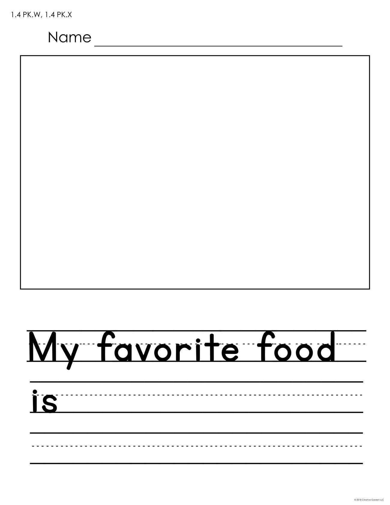 These 5 Free Worksheets Feature Room For Both Drawing And Writing Each Worksheet Has One Open Ended Sen Free Writing Prompts Writing Prompts Funny Freewriting [ 1682 x 1300 Pixel ]